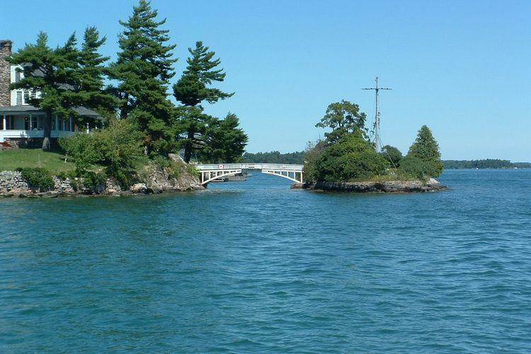 Zavicon Island Bridge.