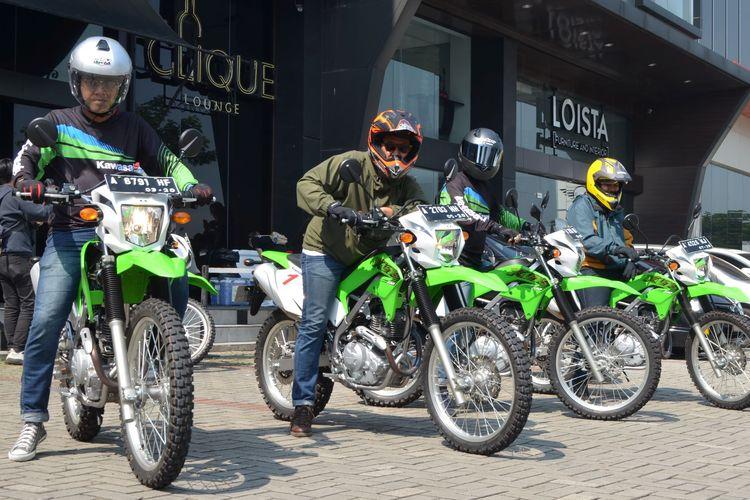 Kawasaki Motor Indonesia optimistis pasar motor dual purpose tetap berkembang.