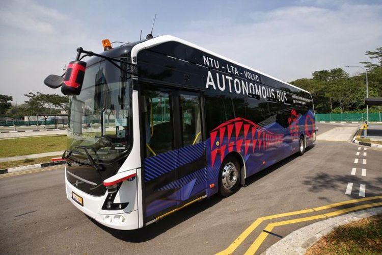 Ilustrasi autonomous bus