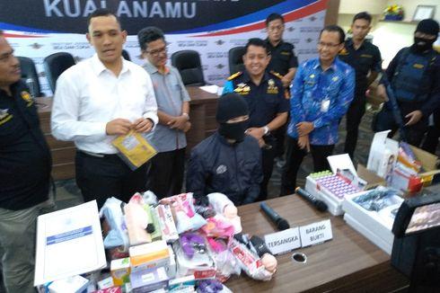 133 Kasus Diungkap Bea dan Cukai Kuala Namu Selama Januari,