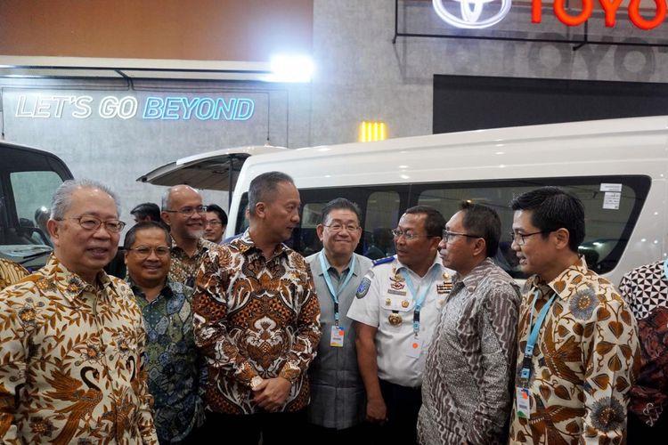 Toyota Astra Motor di pameran GIICOMVEC 2020