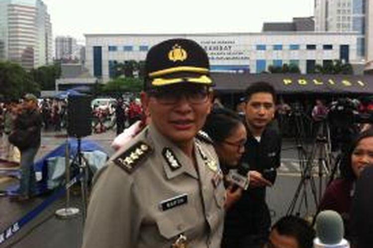 Kepala Bidang Humas Polda Metro Jaya Komisaris Besar Martinus Sitompul.