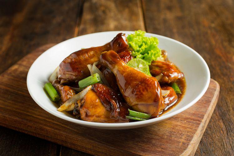 Resep Ayam Kecap Bawang Bombay Hasilnya Enak Dan Empuk