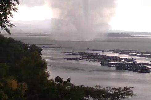Puting Beliung di Waduk Gajah Mungkur Wonogiri Sering Terjadi, Kemarin Paling Besar dan Lama