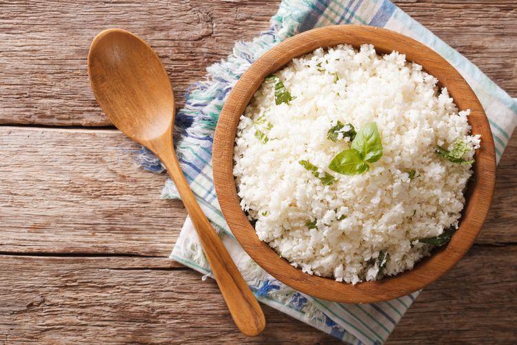 Ilustrasi nasi kembang kol.