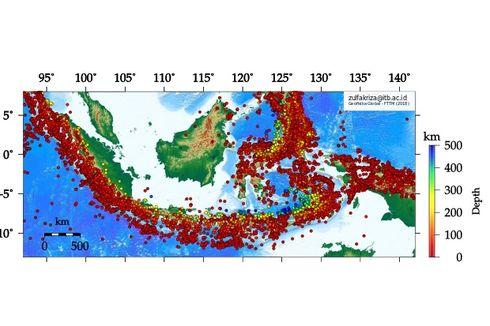 Meski Punya Sesar Aktif, Aktivitas Gempa di Kalimantan Paling Sedikit