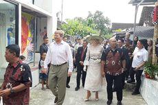 Raja Belanda Jalan Kaki Susuri Kampung dan Nikmati Mural di Yogyakarta