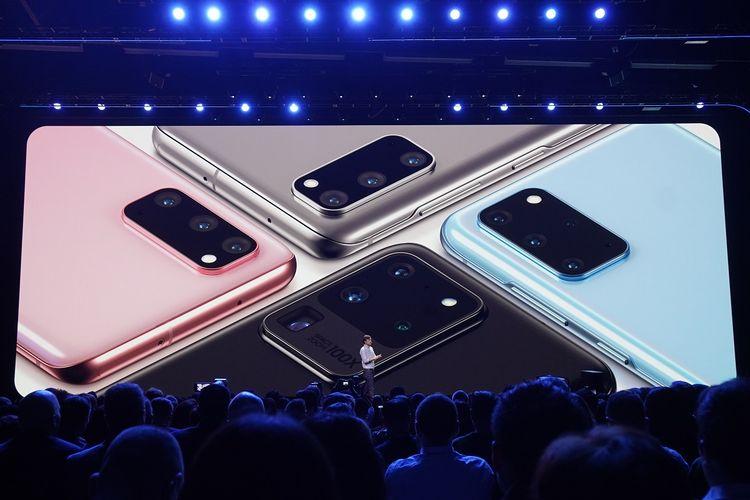 Ada tiga varian Galaxy S20, yakni Galaxy S20 reguler, Galaxy S20 Plus, dan Galaxy S20 Ultra
