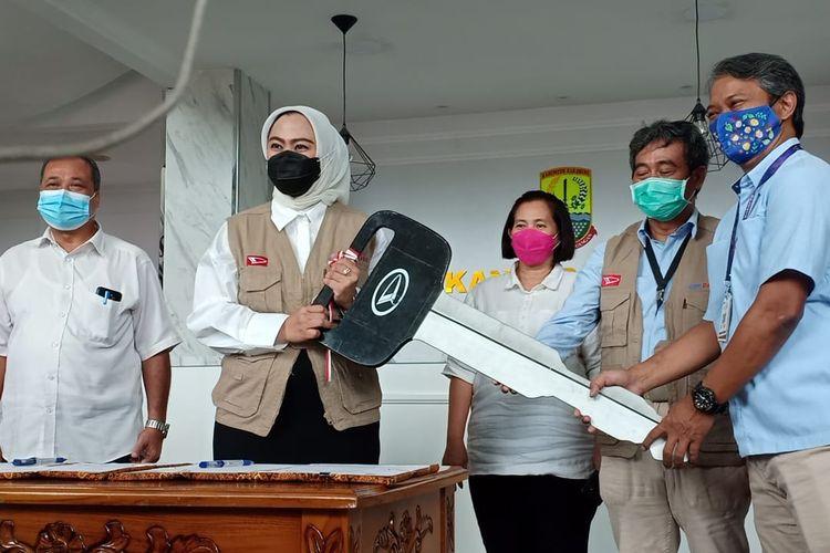 Daihatsu Sumbang Gran Max ke Kabupaten Karawang