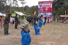 Serunya Anak-anak Suku Terasing Mausu Ane di Maluku Rayakan HUT RI...
