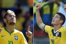 Susunan Pemain Brasil Vs Kolombia