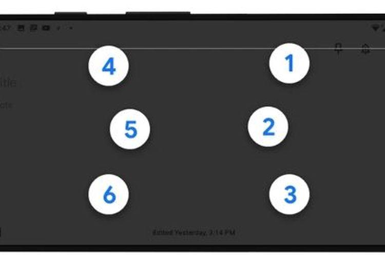 Keyboard virtual braille dari Google