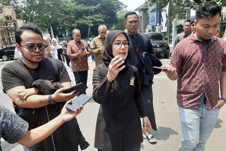 Bupati Lebak Iti Octavia Jayabaya saat ditemui di Rangkasbitung, Senin (9/9/2019).