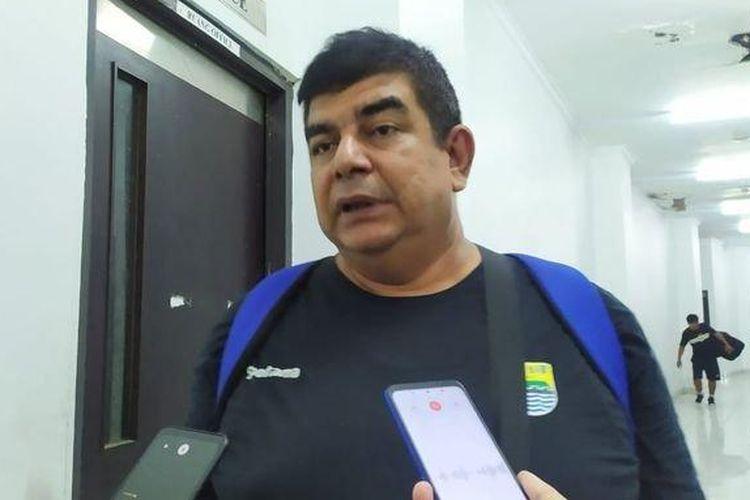 Dokter tim Persib Bandung, Rafi Ghani, saat ditemui di Stadion GBLA, Bandung, Sabtu (25/1/2020).