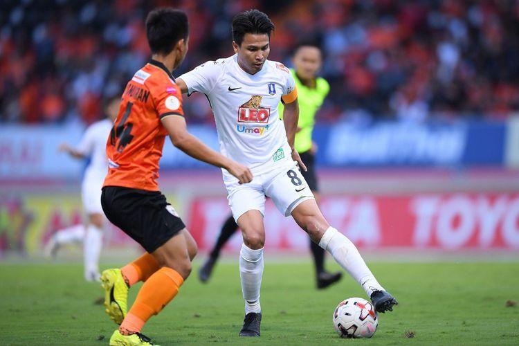 Laga Liga Thailand, BG Pathum United vs Chonburi FC, akan bergulir pada Sabtu (21/11/2020) malam WIB.
