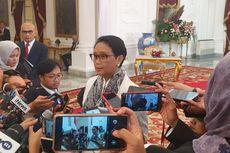 Jabatan Berakhir, Retno Masih Tetap Dampingi Jokowi Terima Tamu Negara