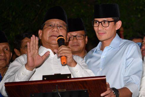 Jokowi Ucapkan Selamat kepada Prabowo-Sandiaga
