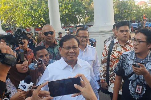 Prabowo Pastikan Gerindra Dapat Dua Kursi Menteri
