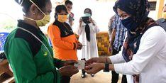 Di Tengah Pandemi Covis-19, Bupati Luwu Utara Saluran Bantuan PKH Rp 1,250 Miliar
