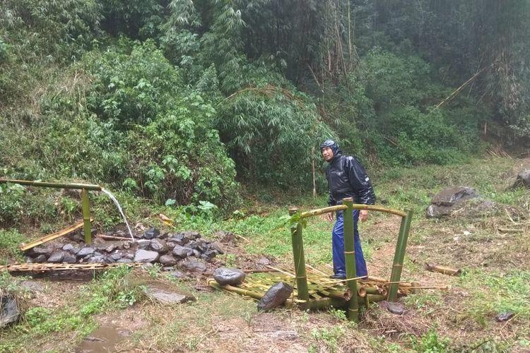 Tempat wisata bernama Curug Surodipo di Kabupaten Temanggung, Jawa Tengah (dok. Curug Surodipo).