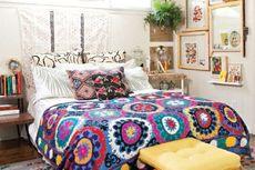 7 Tips Dekorasi Kamar Tidur Bergaya Bohemian yang Unik dan Estetik