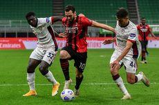 Hasil AC Milan Vs Cagliari - Imbang, Rossoneri Batal Kunci Posisi Empat Besar