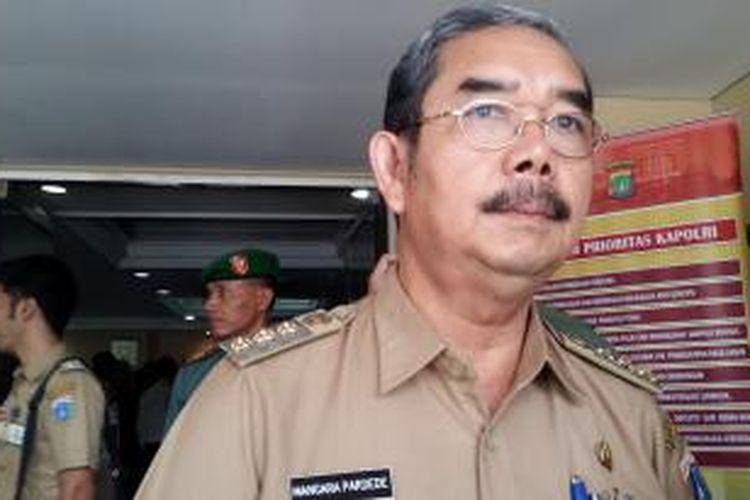 Wali Kota Jakarta Pusat Mangara Pardede