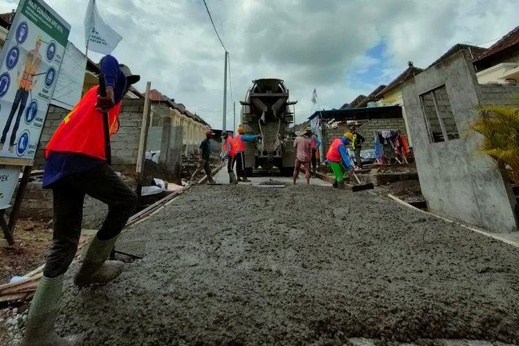 Bantuan prasarana, sarana, dan utilitas umum (PSU) di Bali.