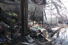 Pasar Lokbin Terbakar, Bocah 11 Tahun Tewas Terjebak Api