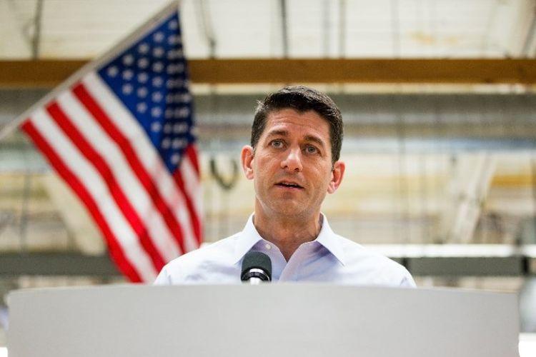 Ketua DPR AS, Paul Ryan.