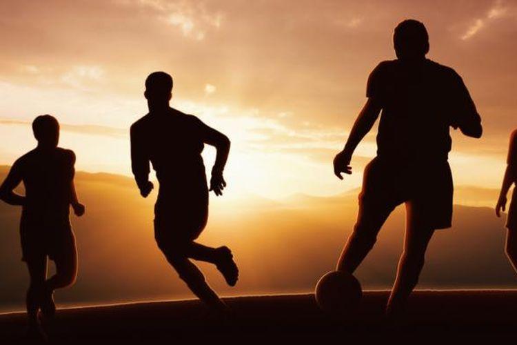 Ilustrasi sepak bola.