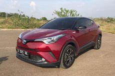 Begini Tampilan Toyota C-HR Hybrid yang Menarik Perhatian