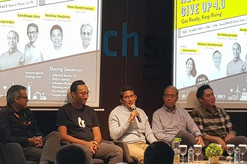 Sandiaga Uno: Akses Pendanaan Paling Dibutuhkan UMKM di Indonesia