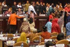 Dengarkan Lantunan Shalawat, Anggota DPD yang Ricuh Mendadak Tenang