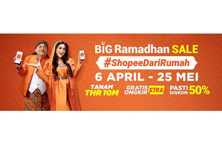 Big Ramadhan Sale #ShopeeDariRumah.