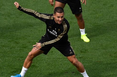 Atletico Madrid Vs Real Madrid, Hazard Tak Sabar Hadapi Diego Costa