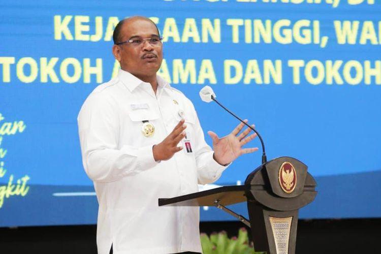 Pj Gubernur Kalsel, Safrizal.