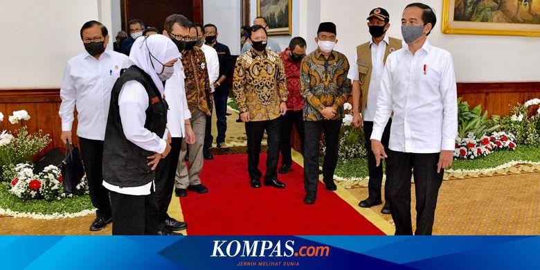 Jokowi Minta Covid-19 di Jatim Turun dalam 2 Pekan