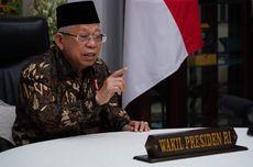 Wapres Maruf Amin Minta Pemkot Tangerang Vaksinasi 15.000 Orang Per Hari