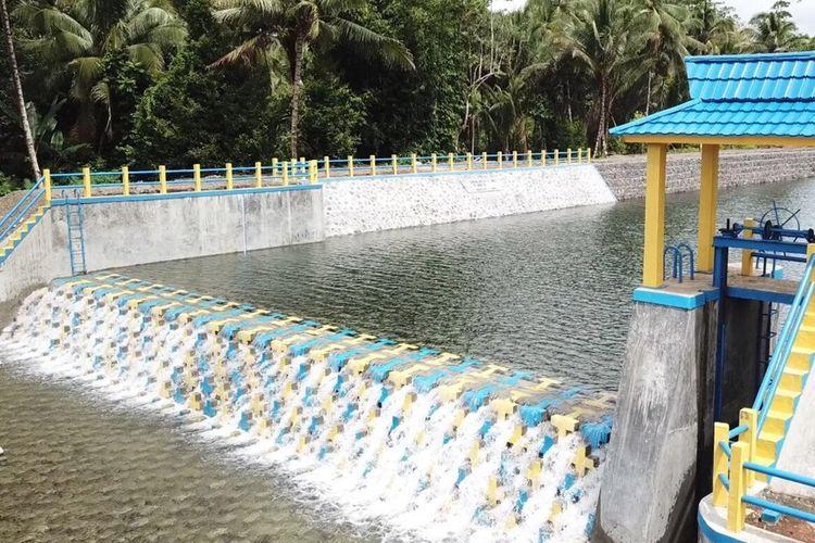 Bendung modullar di Morotai