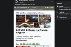 [HOAKS] Mal Taman Anggrek Dijual Rp 17 Triliun