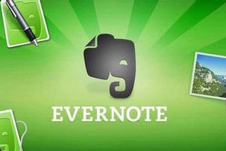 Hasil gambar untuk gambar aplikasi evernote