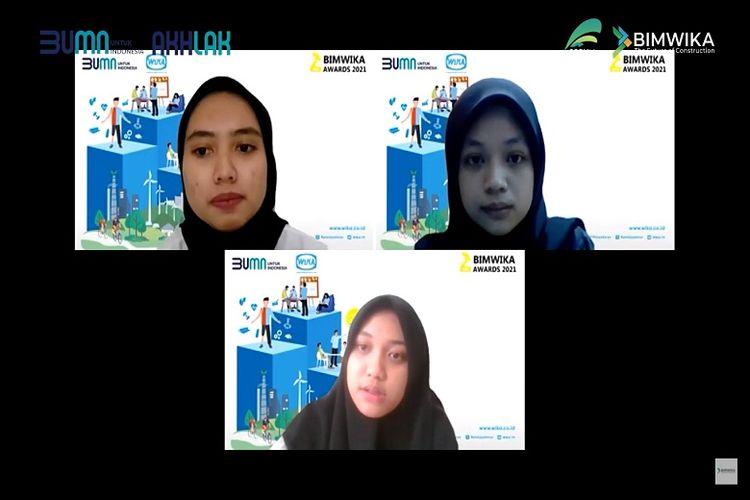 Benule Team dari Itenas Bandung Juara 1 BIMWIKA Awards 2021.