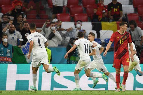 Hasil Euro 2020 Belgia Vs Italia, Gli Azzurri Unggul Tipis pada Babak Pertama