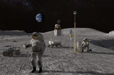 Ahli Membuat Peta Bulan Baru untuk Misi Eksplorasi Bulan di Masa Depan