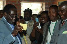 Robert Mugabe Klaim Menangi Pemilu Zimbabwe