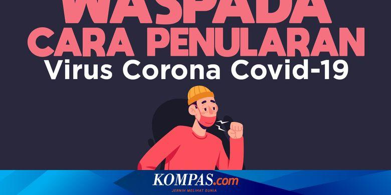 Infografik Waspada Cara Penularan Virus Corona Covid 19