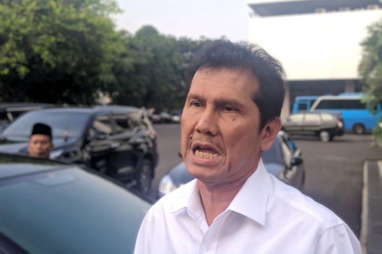 Menpan-RB Asman Abnur ditemui di Istana Kepresidenan, Rabu (30/5/2018).