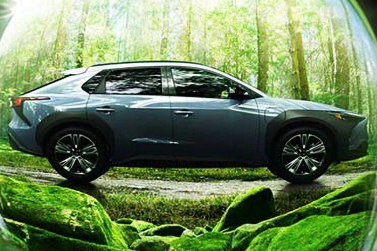 Bocoran gambar Subaru Solterra