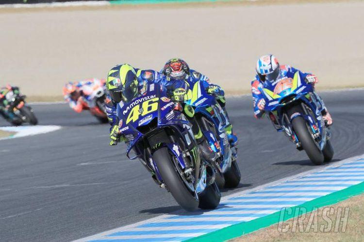 Valentino Rossi di GP Jepang.